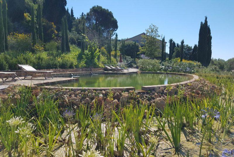 a440 in tuscany vojagon Pienza biolago balneabile