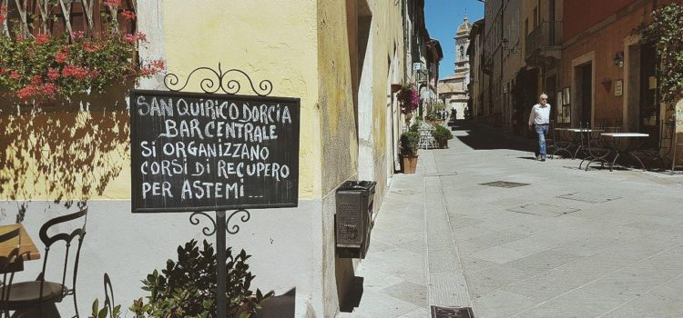 un giorno a san quirico d'orcia cosa vedere piazza della libertà tuscany wine vojagon