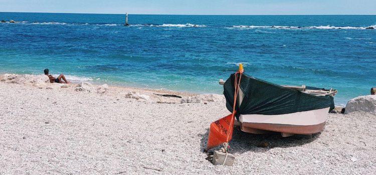 migliori spiagge di numana borgo di numana vojagon spiaggia dei frati