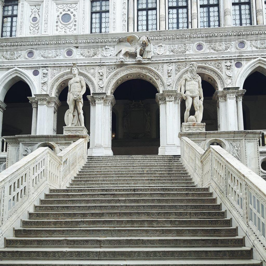 Vojagon venzia palazzo ducale scala dei giganti