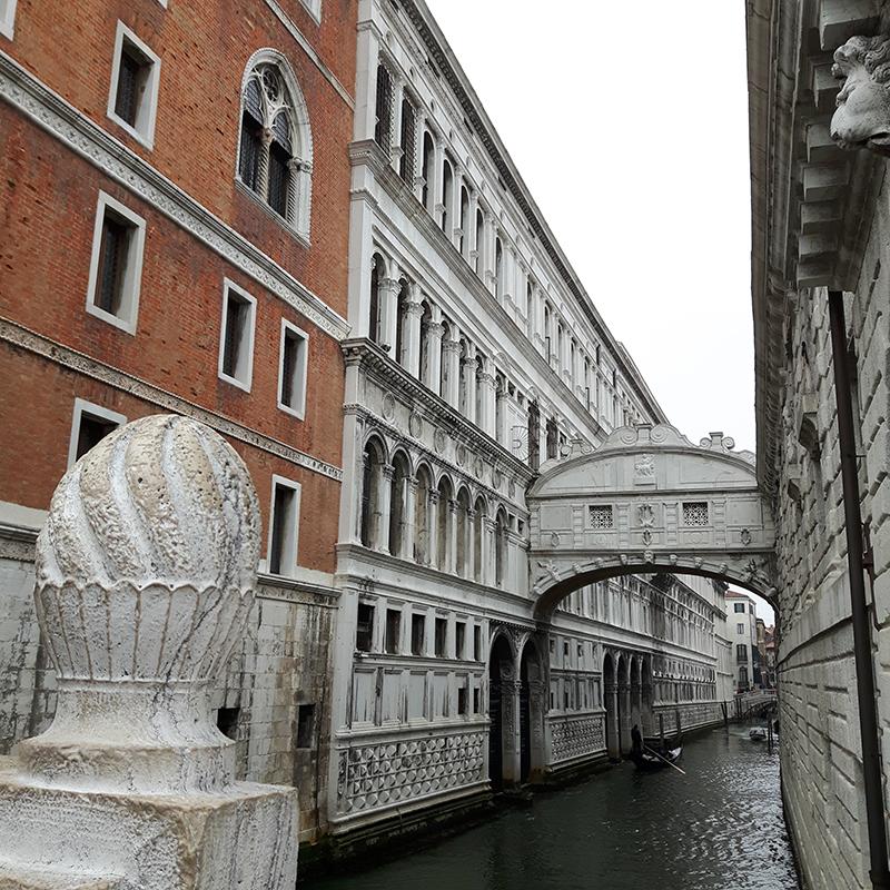Vojagon venezia ponte dei sospiri