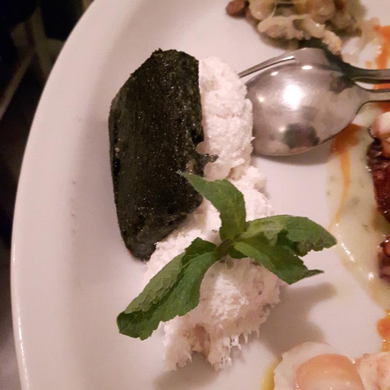 Vojagon mangiare a venezia baccala polenta nero di seppia