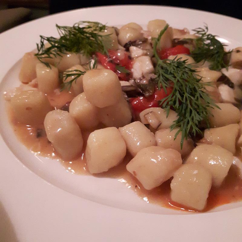 Vojagon mangiare a venezia gnocchi osteria frasca