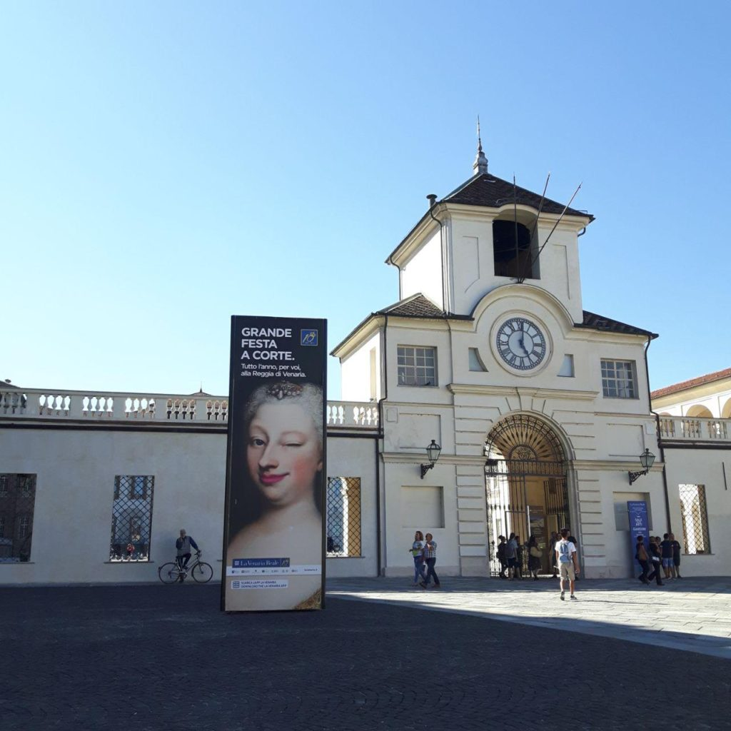 reggia di venaria reale vojagon torino piemonte italia italy