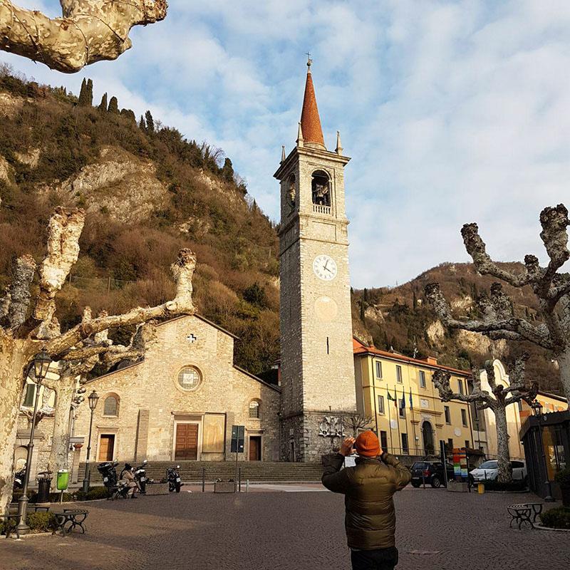 varenna cosa vedere in un giorno vojagon piazza e chiesa san giorgio como lake italy italia lago di como