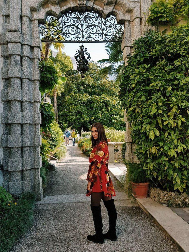 giardini villa monastero varenna italian villa como lake vojagon