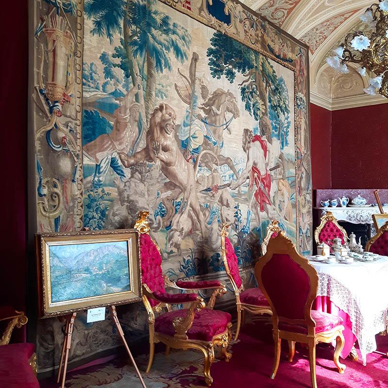 villa monastero varenna vojagon la sala rossa como lake italia italy