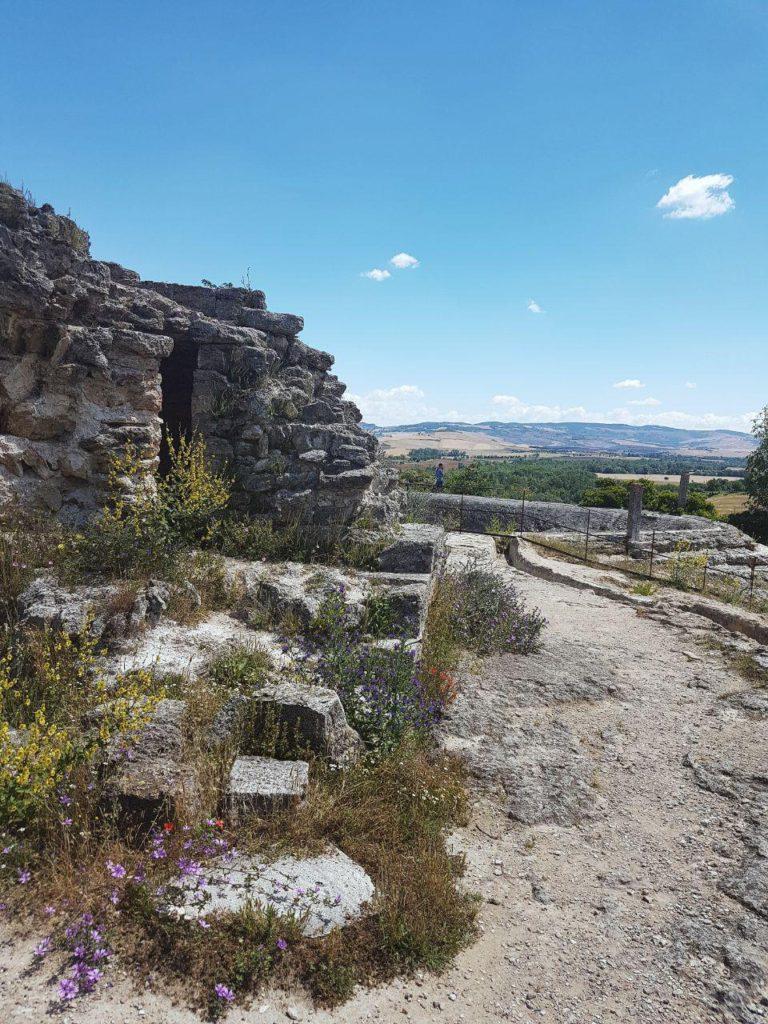 Terme libere di Bagno Vignoni e il Parco dei Mulini  Vojagon
