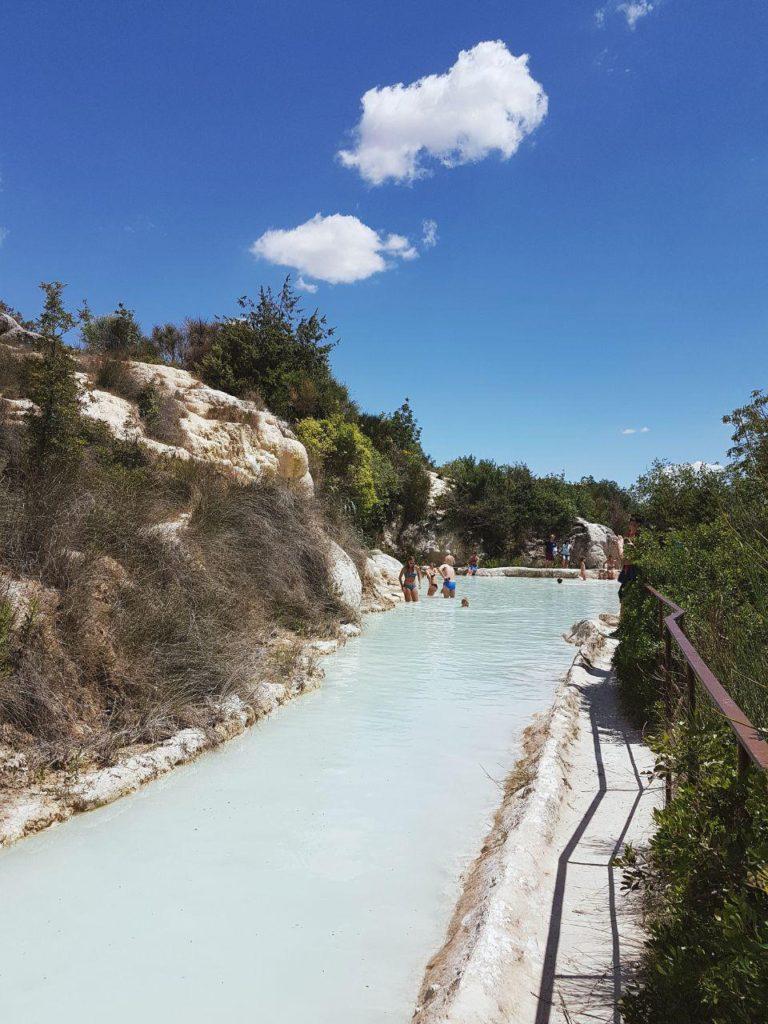 terme libere di bagno vignoni what to see in tuscany