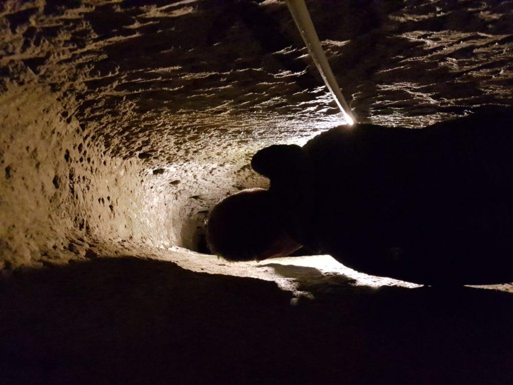 napoli sotterranea percorso facoltativo cunicolo vojagon