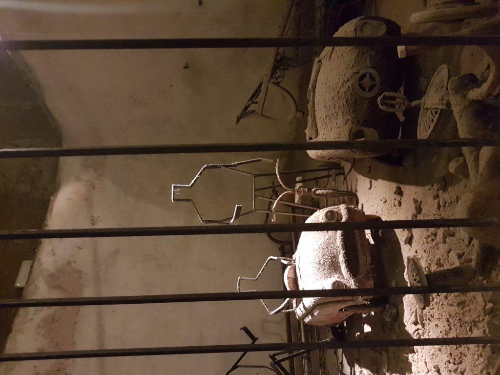 vojagon come visitare la Napoli Sotterranea residui bellici