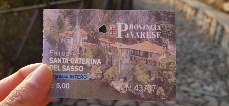 Orari e prezzi dell'Eremo Santa Caterina del Sasso vojagon