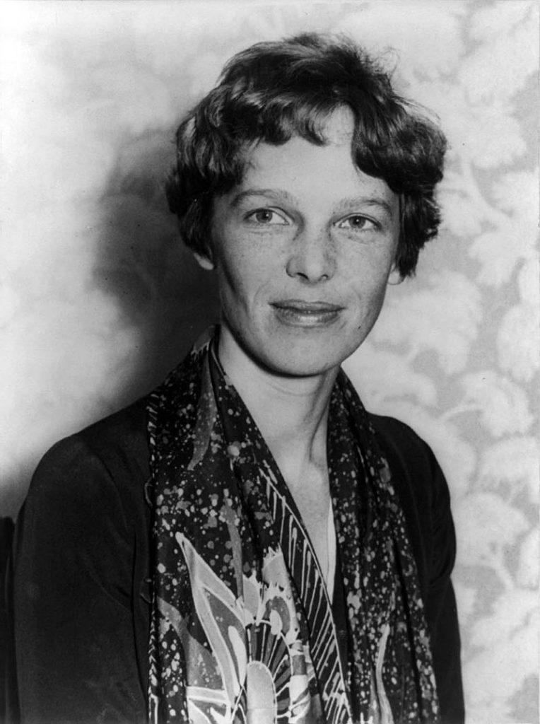 amelia Earhart vojagon