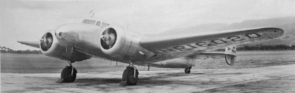 Lockheed L-10 Electra amelia earhart