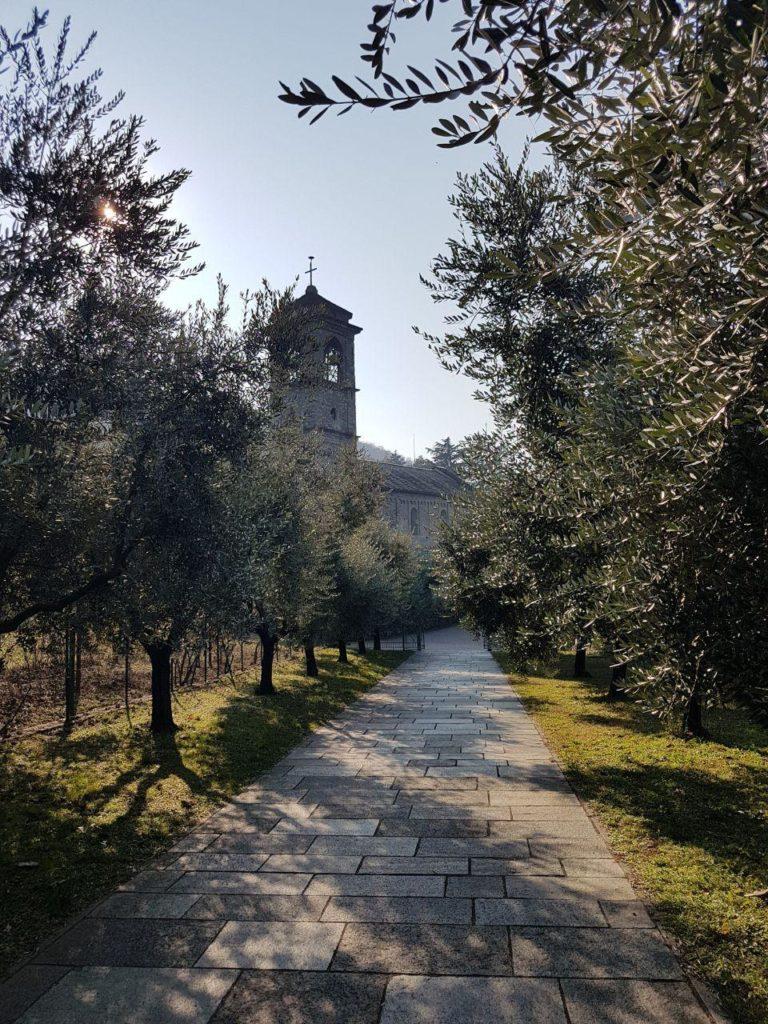 immagini abbazia di piona vojagon