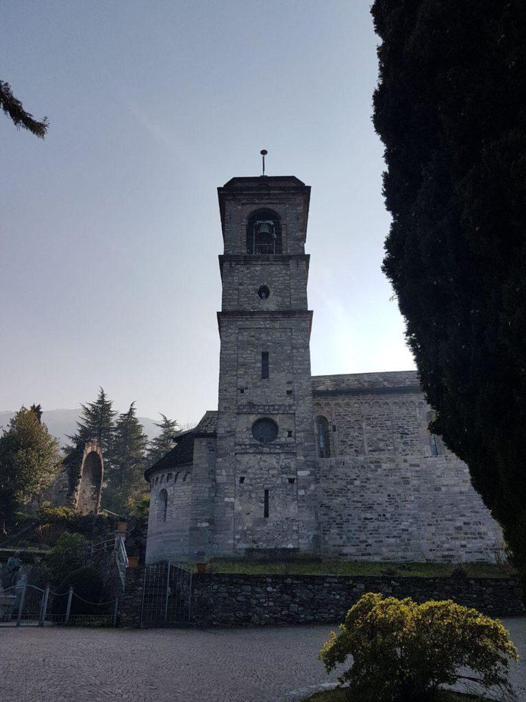 campanile abbazia di piona vojagon