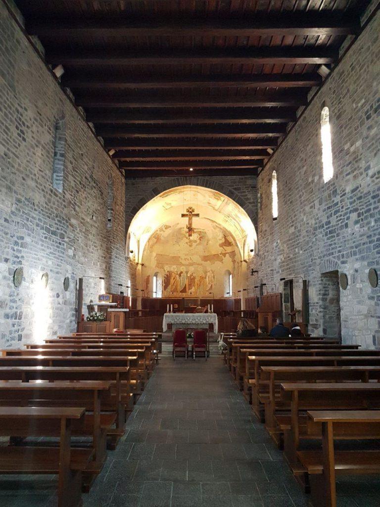 architettura romanica abbazia di piona vojagon