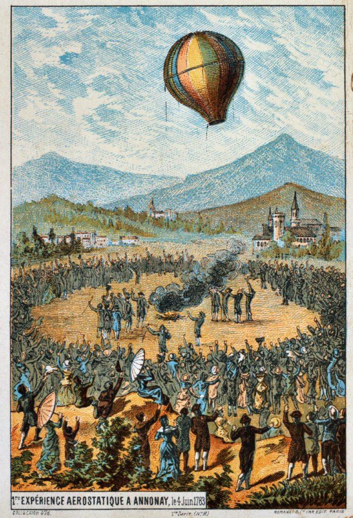primo volo mongolfiera annonay