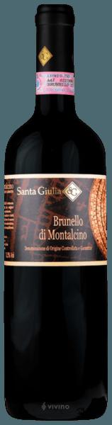 Migliori Brunello di Montalcino sotto i 30€ - Santa Giulia Brunello di Montalcino 2016