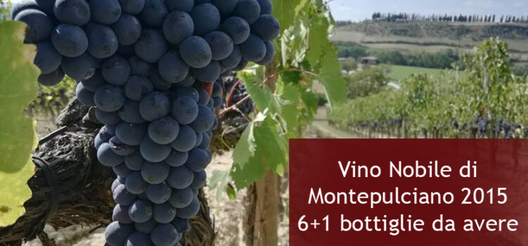 Vino Nobile di Montepulciano 2015 prezzii